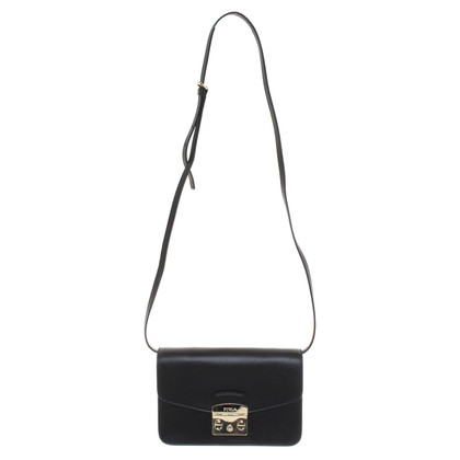 Furla clutch in nero