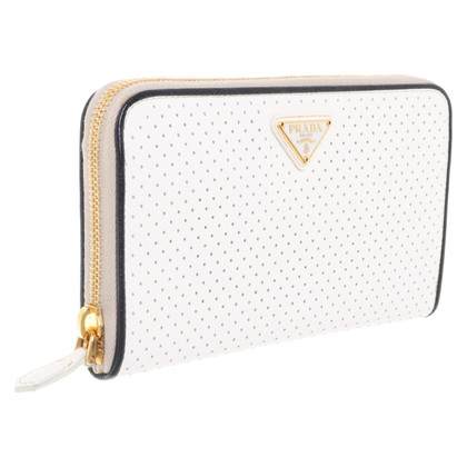 Prada Wallet in white