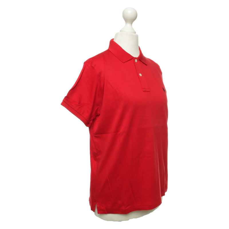 Red Second Lauren In Hand Top Cotton Ralph Polo mN8vwO0n