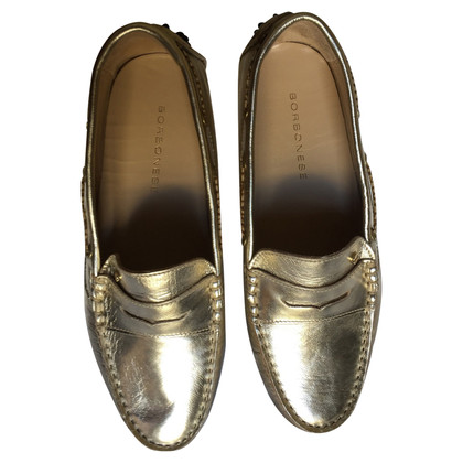 Borbonese Golden loafers