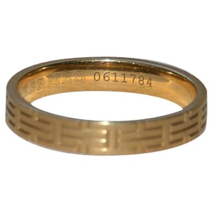 Hermès Ring geel goud
