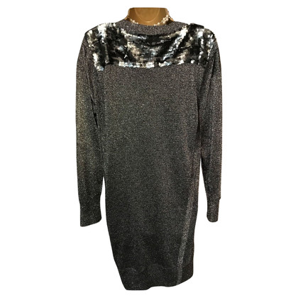 French Connection Jumper dress with sequin trim