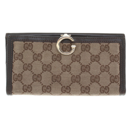 Gucci Portemonnaie mit Guccissima-Muster