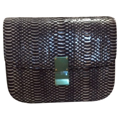 "Céline ""Box Bag Medium"" made of snake leather"