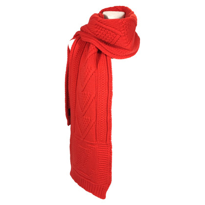 Louis Vuitton Twist scarf wool