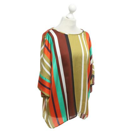 Piu & Piu top with stripe pattern