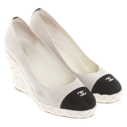 Chanel pumps beige/black