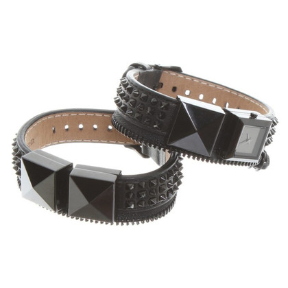 Karl Lagerfeld Wristwatch with rivets
