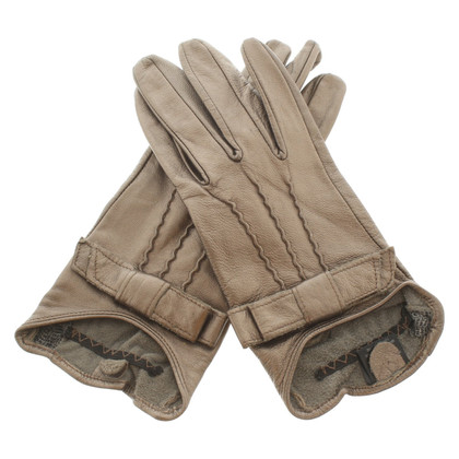 Ted Baker Bronze colored gloves