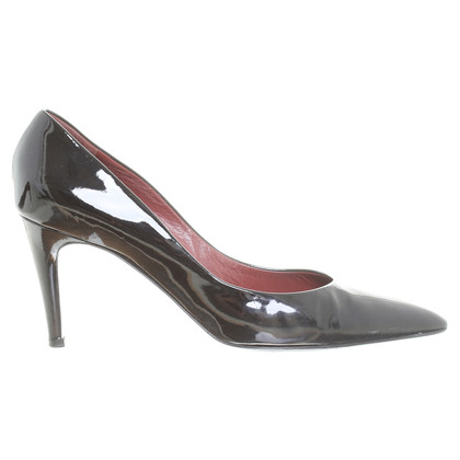 Bottega Veneta Lacklederpumps in Schwarz