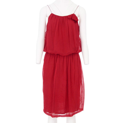 Lanvin Red chiffon dress