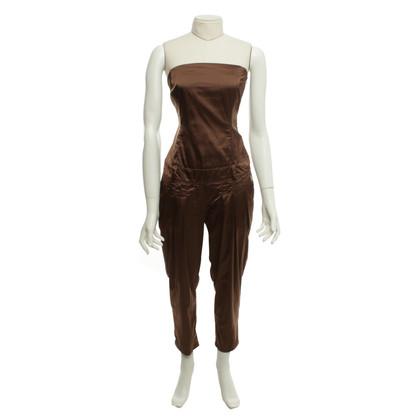 Elisabetta Franchi jumpsuit Brown