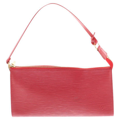 Louis Vuitton clutch in red