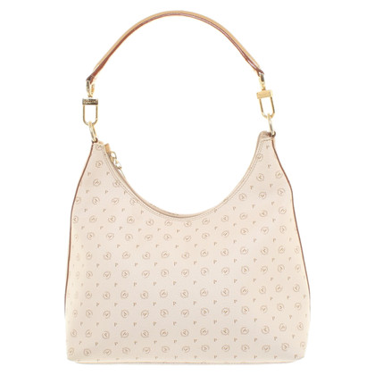 Pollini Leather handbag in beige