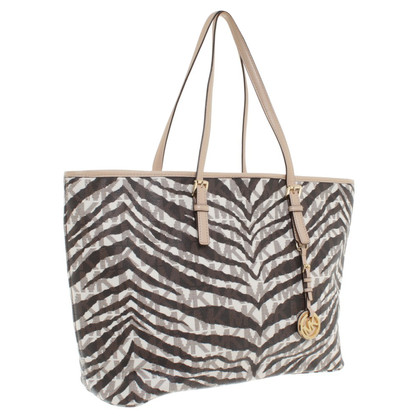 Michael Kors Shoppers met animal print
