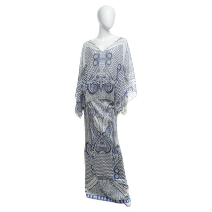 Roberto Cavalli top and skirt with pattern
