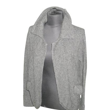 Yohji Yamamoto Vest in donkergrijs