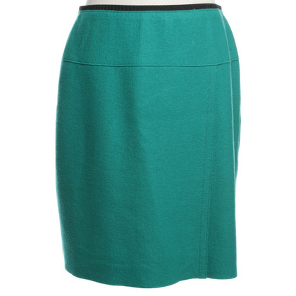 Marc Cain Wool skirt in green