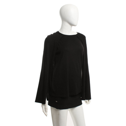 Calvin Klein Top with fixed cape