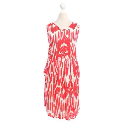 Velvet Summer dress with pattern
