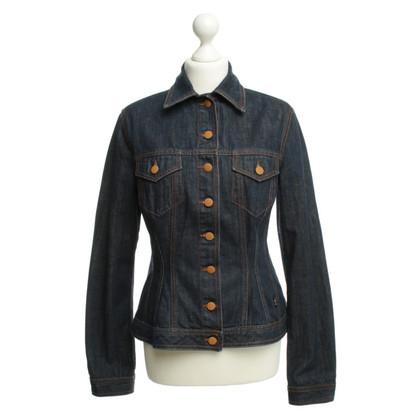 Jean Paul Gaultier Denim jacket in blue