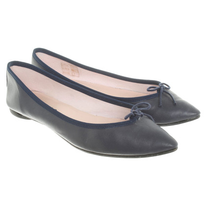 Repetto Ballerine in blu scuro