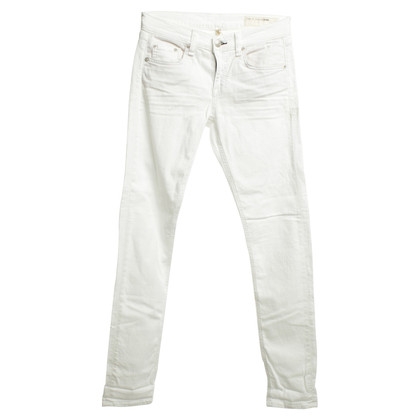 Rag & Bone Jeans in White