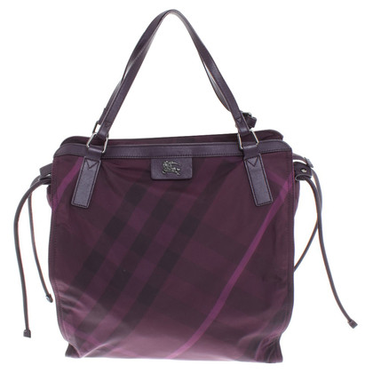 Burberry Shopper mit Muster
