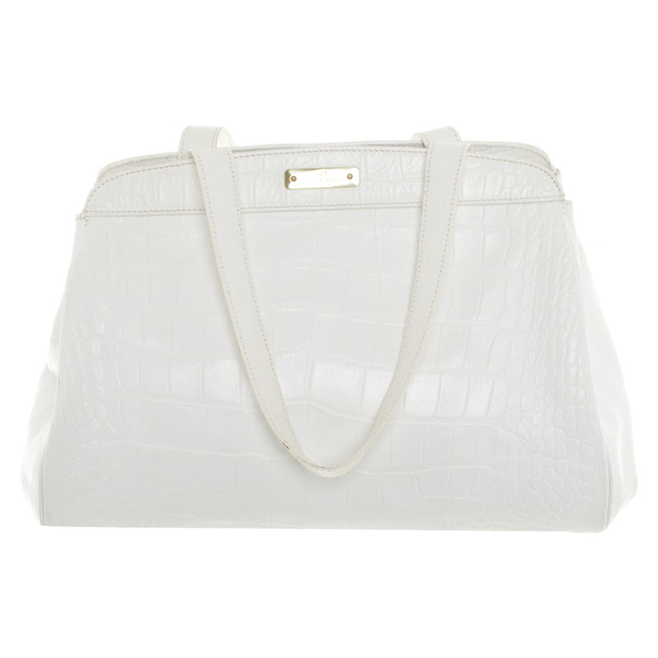 Aigner Handbag in White