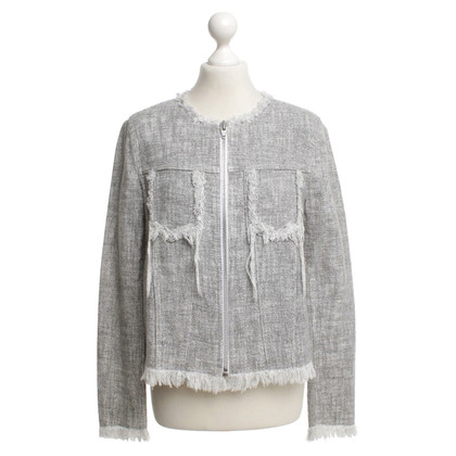 T by Alexander Wang Blazer in Gray