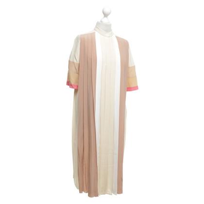 Chloé Kleid mit Color-Blocking