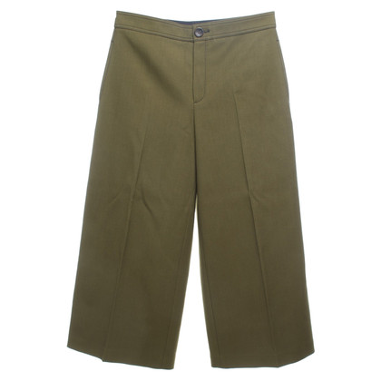 Joseph trousers in olive green