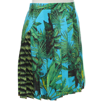 Versace for H&M Pleated skirt made of silk