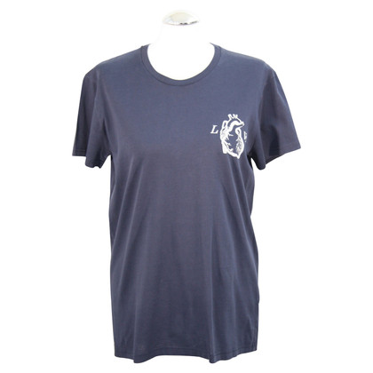 Christian Dior T-shirt in donkerblauw