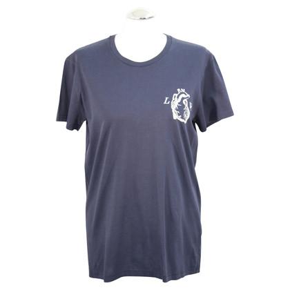 Christian Dior T-shirt in blu scuro