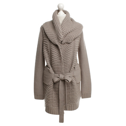 Schumacher Knitted coat in beige