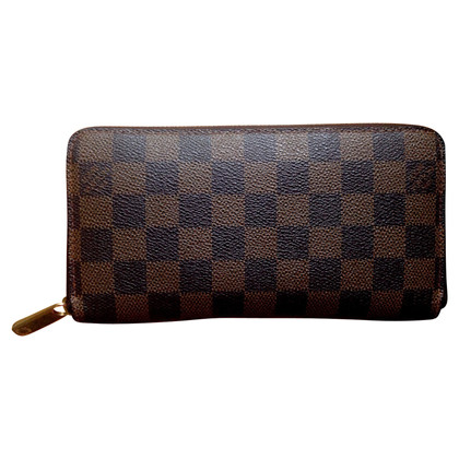 "Louis Vuitton ""Zippy Damier Ebene Canvas"""