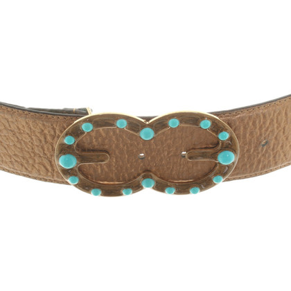 Escada Bronze colored belt
