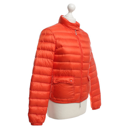Moncler Quilted Jacket in Orange