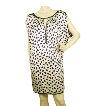 Marc Jacobs Hearts zijden jurk