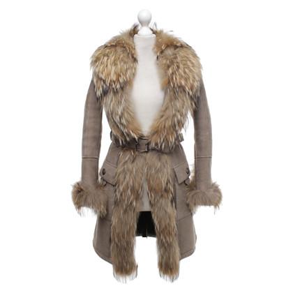 Other Designer Fur coat in grey