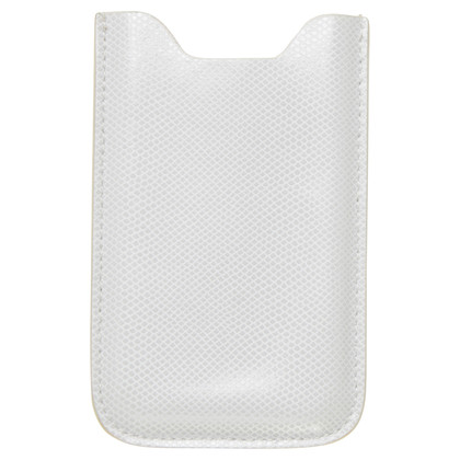 Mont Blanc I phone cover in off white