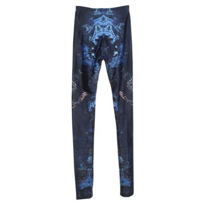 Alexander McQueen Leggings mit Batik-Muster