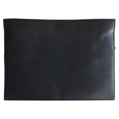 Kenzo zwart leder clutchbag