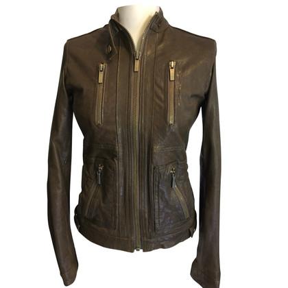 Michael Kors giacca di pelle