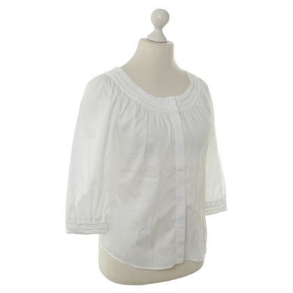Diane von Furstenberg Cotton blouse in white