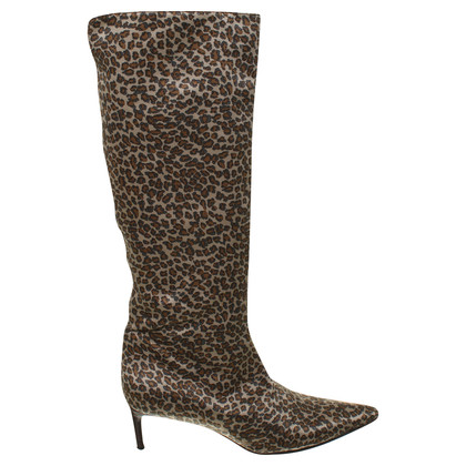 Bottega Veneta Boots with Leopard print