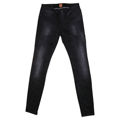 Boss Orange Skinny Jeans in Schwarz