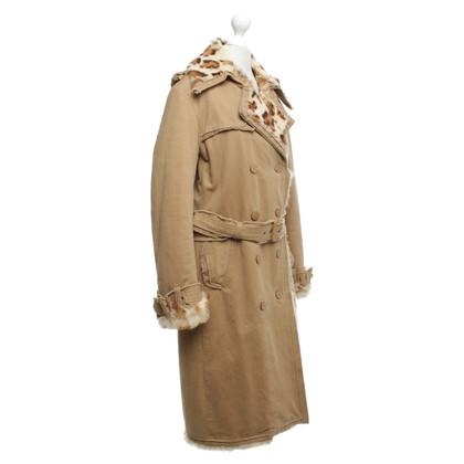 Steffen Schraut Coat in light brown