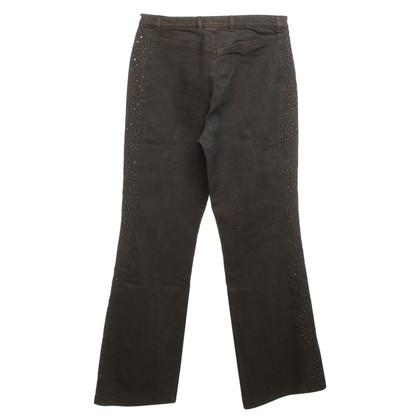 Escada Jeans mit Strassstein-Besatz